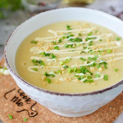 Creamy Vegan Potato Soup Recipe-How To Make Creamy Vegan Potato Soup-Easy Creamy Vegan Potato Soup