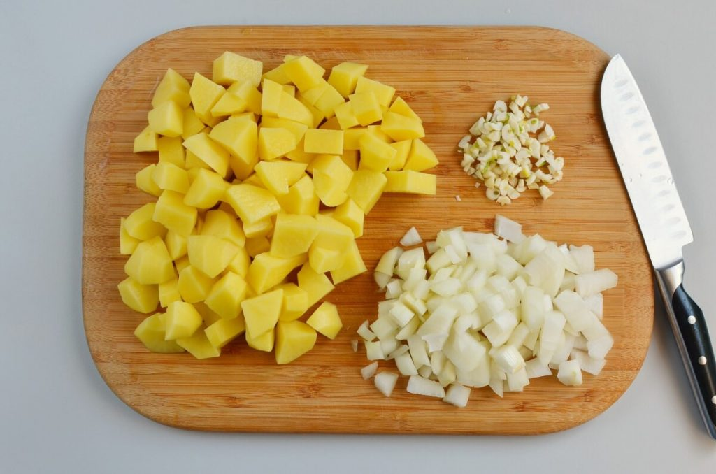 Creamy Vegan Potato Soup recipe - step 1