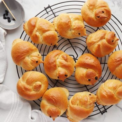 Easter Bird Bread Rolls recipe - step 13