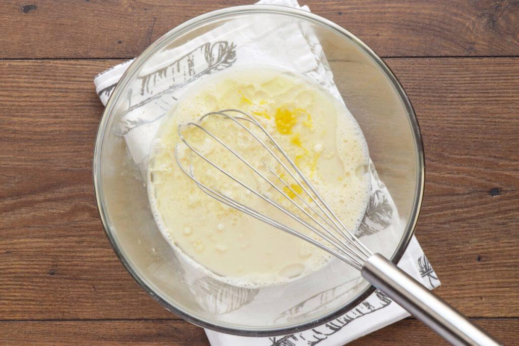 Fluffy Matcha Lemon Muffins recipe - step 3