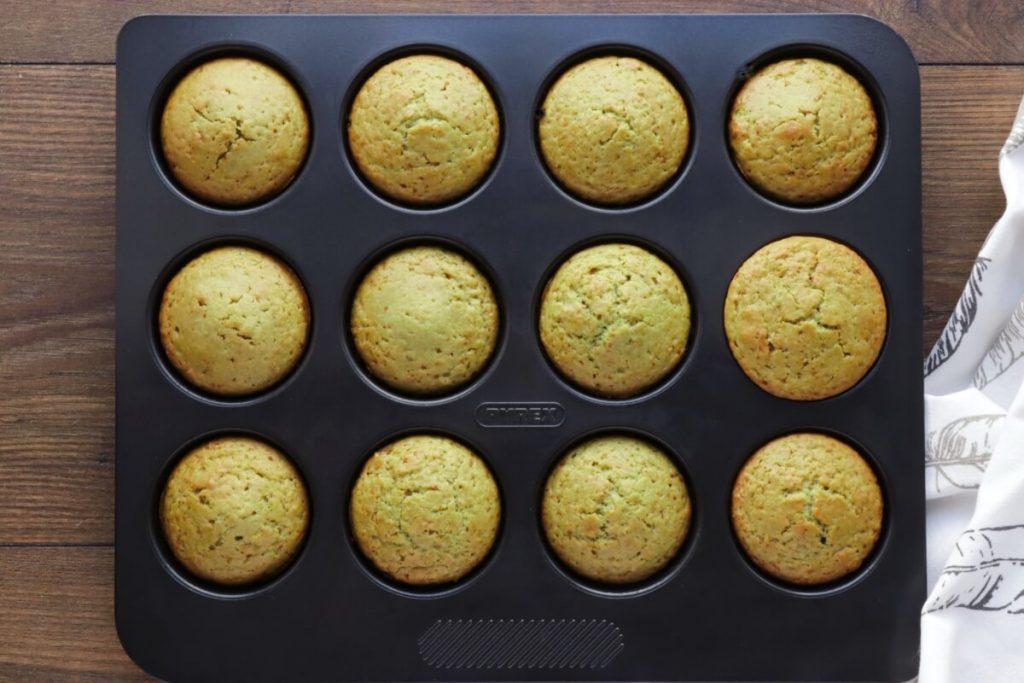 Fluffy Matcha Lemon Muffins recipe - step 6