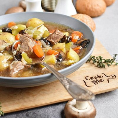 Instant Pot Beef Barley and Mushroom Soup Recipes–Homemade Instant Pot Beef Barley and Mushroom Soup–Eazy Instant Pot Beef Barley and Mushroom Soup