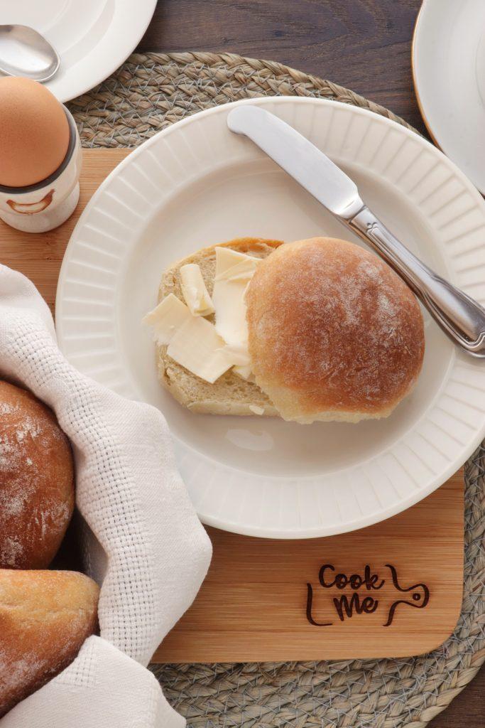 Irish Blaas – Soft Bread Rolls