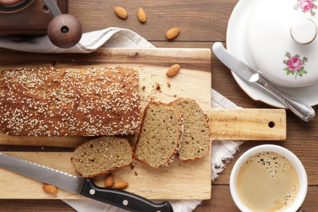 How to serve Keto Bread (No Yeast)