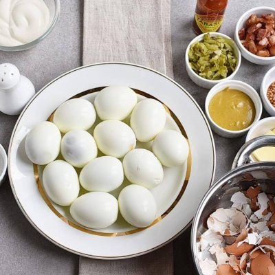 Million Dollar Deviled Eggs recipe - step 1
