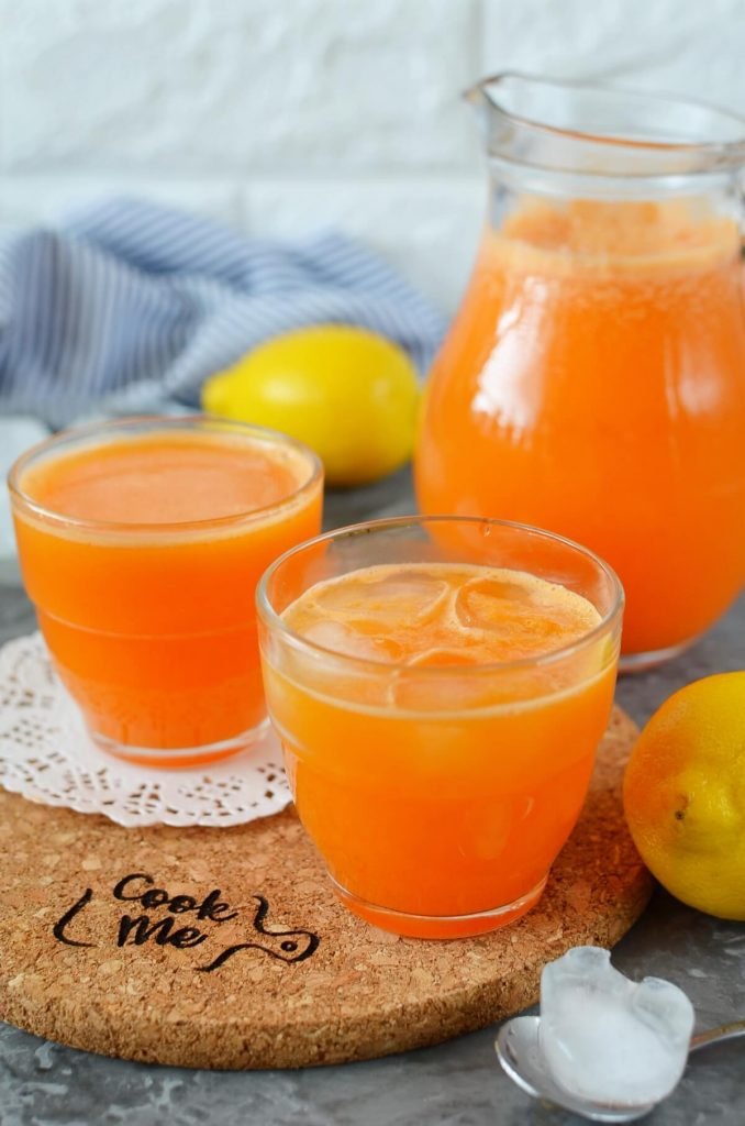 Mixed Fruit and Vegetable Juice