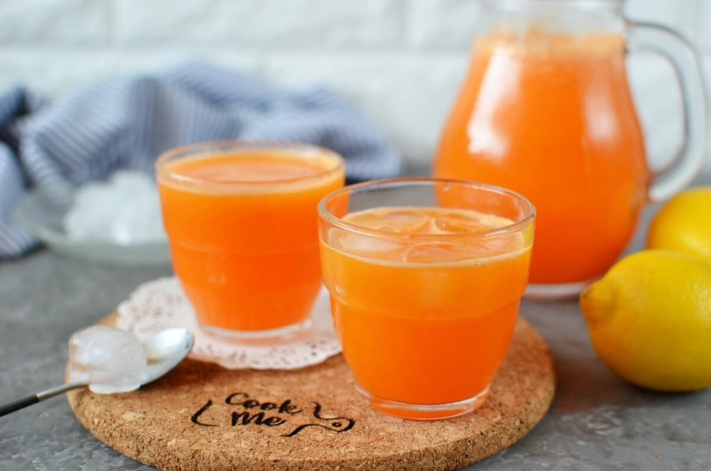 How to serve Mixed Fruit and Vegetable Juice
