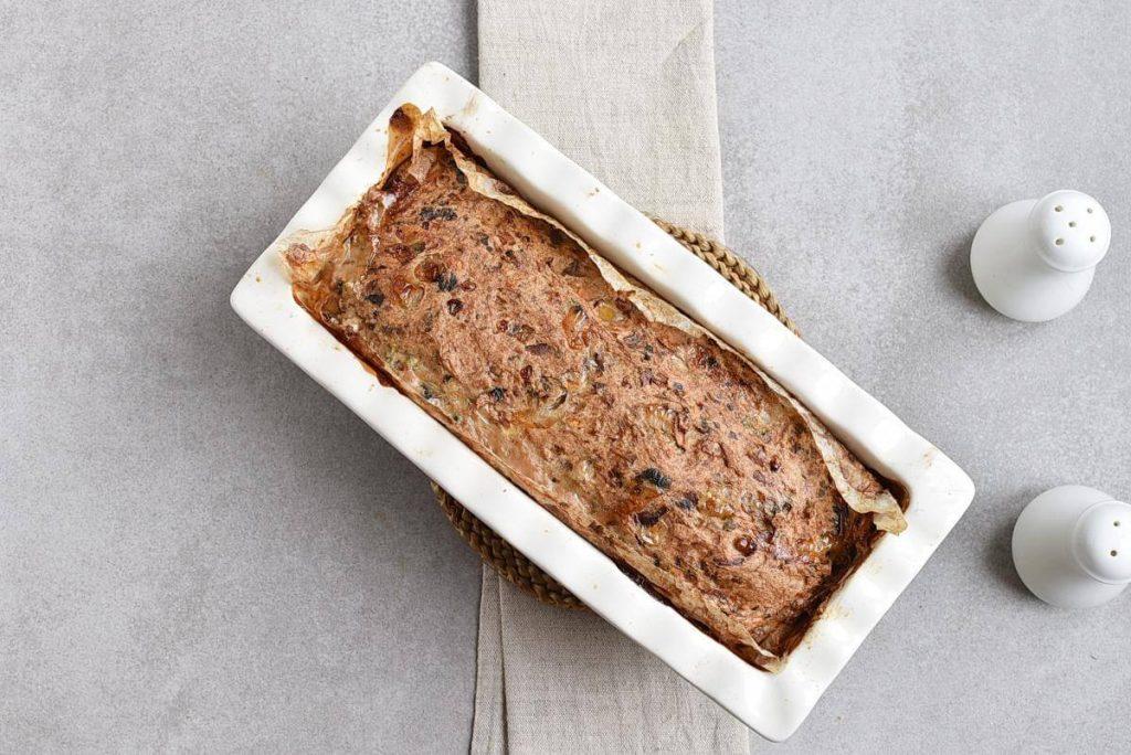 Mushroom Meatloaf with Mushroom Gravy recipe - step 4