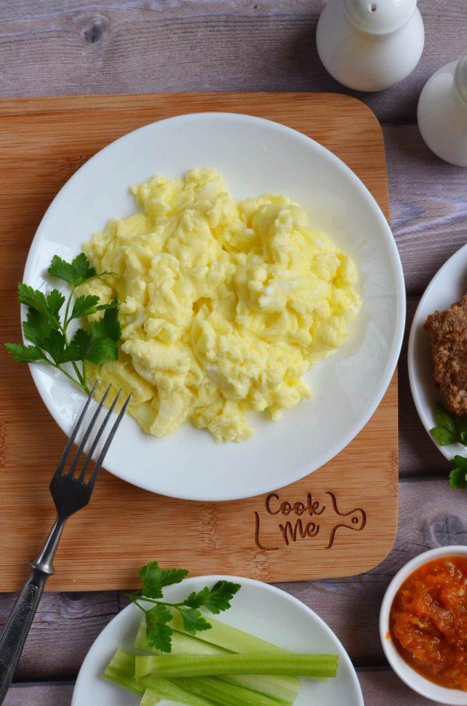 Perfect Scrambled Eggs (Low Carb, Keto)