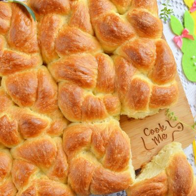 Pull-Apart Challah Rolls Recipe-How To Make Pull-Apart Challah Rolls-Delicious Pull-Apart Challah Rolls