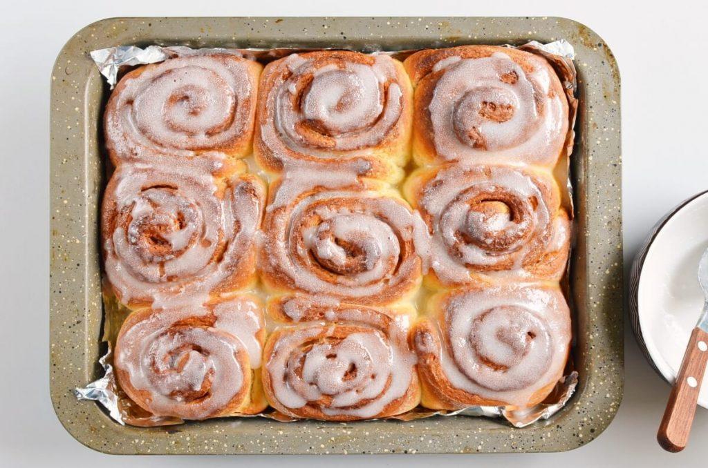 Quick 45 Minute Cinnamon Rolls recipe - step 12