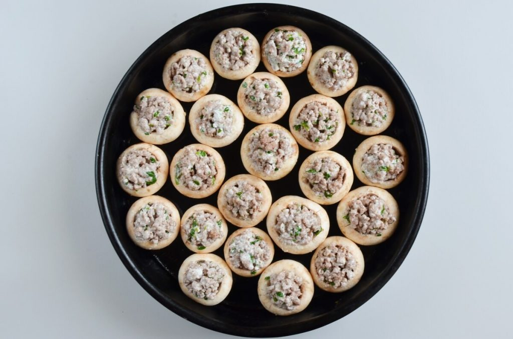 Sausage Stuffed Mushrooms recipe - step 4