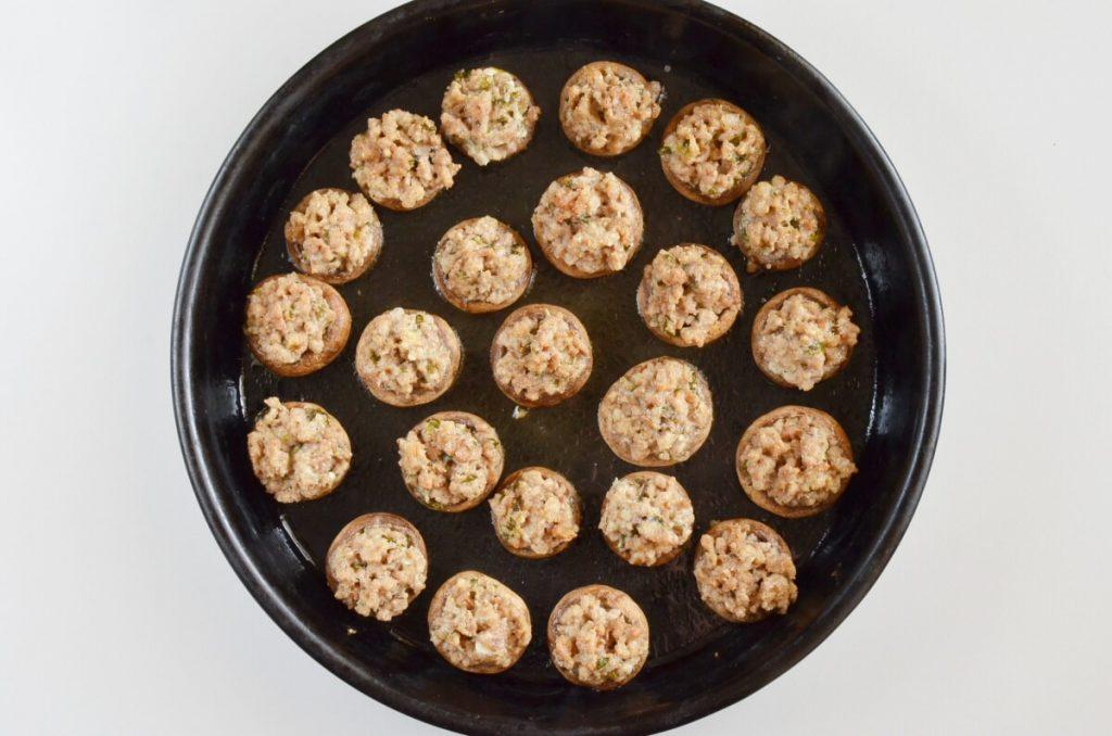 Sausage Stuffed Mushrooms recipe - step 5