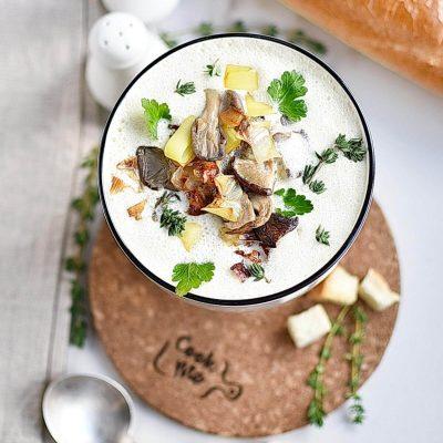 Shiitake Oyster Mushroom Soup Recipes–Homemade Shiitake Oyster Mushroom Soup–Eazy Shiitake Oyster Mushroom Soup
