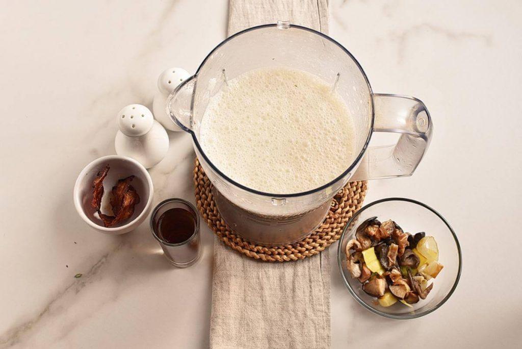 Shiitake Oyster Mushroom Soup recipe - step 4