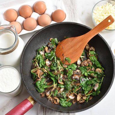 Spinach Mushroom Strata recipe - step 3