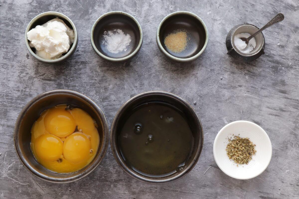 Ingridiens for The Best Keto Cloud Bread Recipe