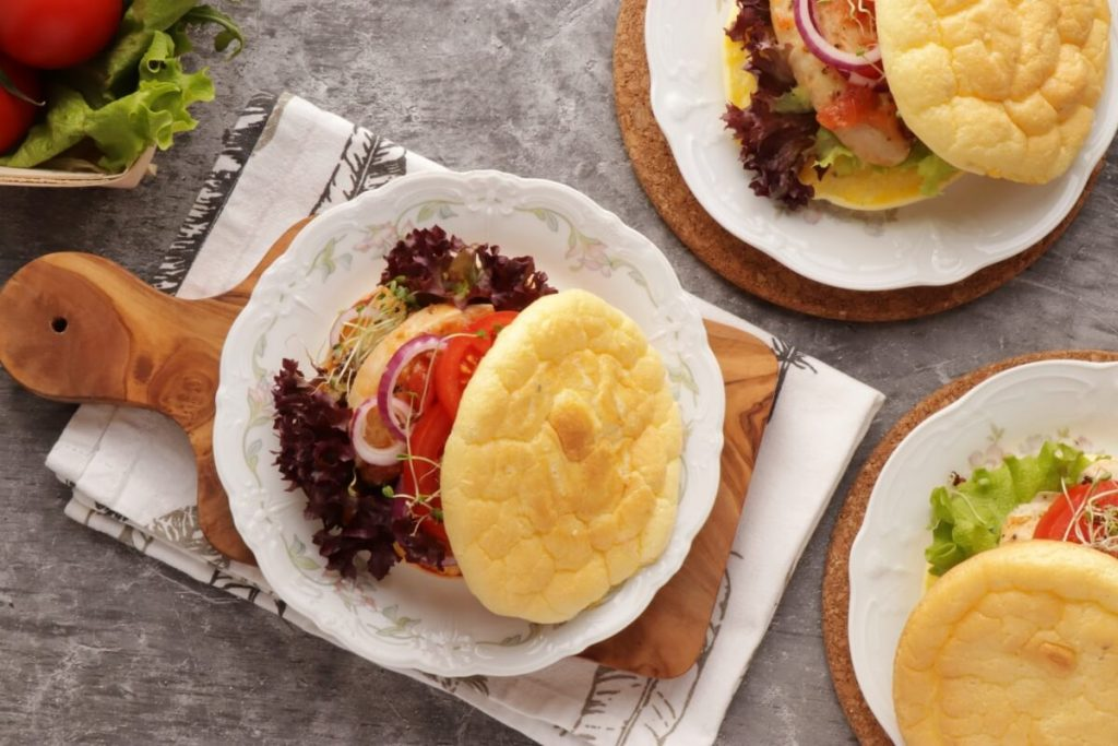 How to serve The Best Keto Cloud Bread Recipe