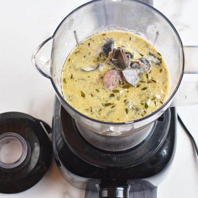 Vegan Instant Pot Mushroom Soup recipe - step 6