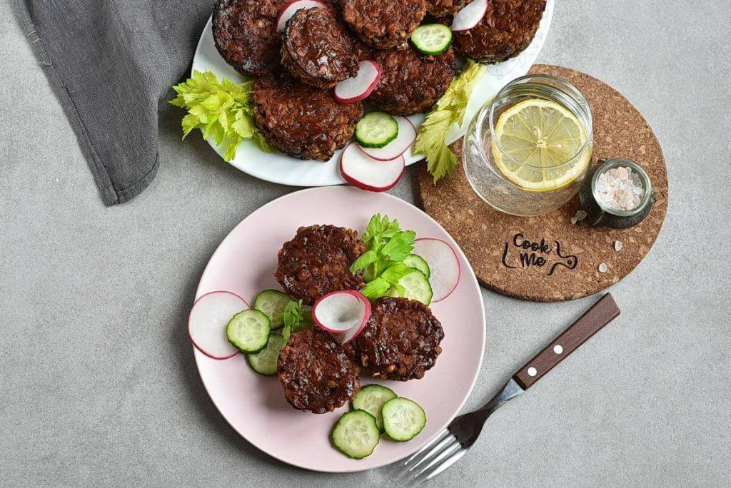 How to serve Vegan Meatloaf Muffins