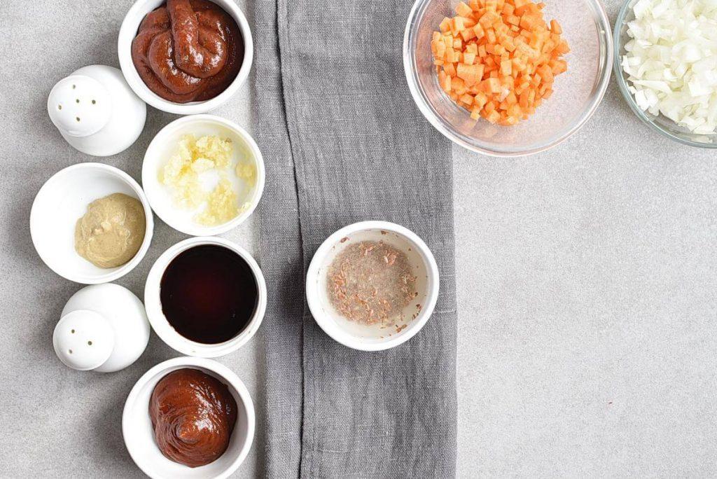 Vegan Meatloaf Muffins recipe - step 2