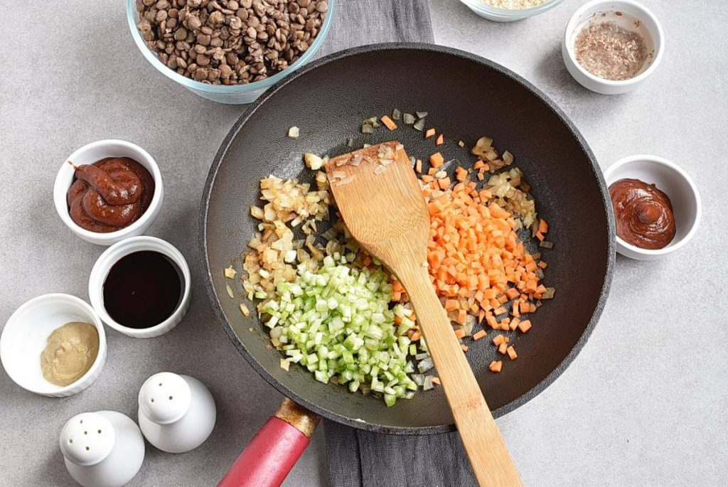 Vegan Meatloaf Muffins recipe - step 5