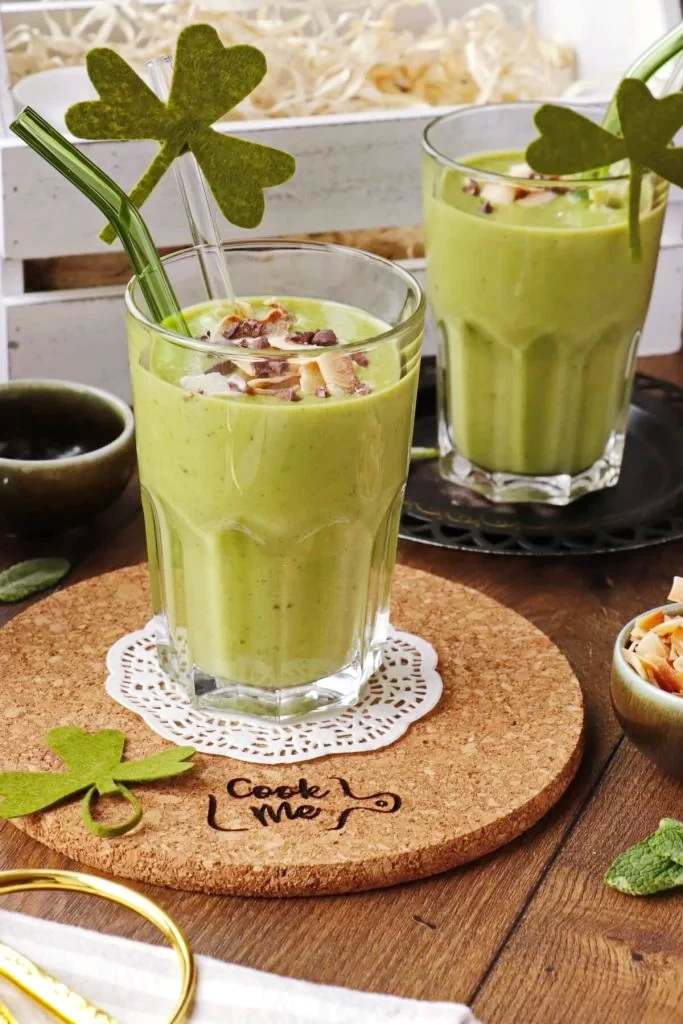 St. Patrick's Day Smoothie