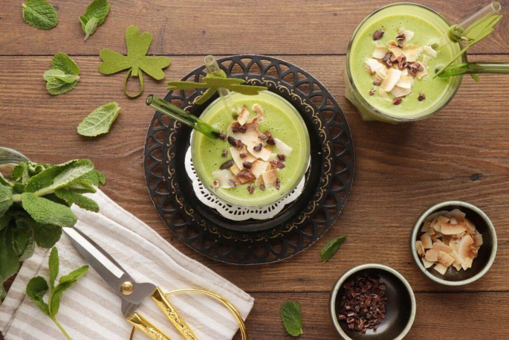 How to serve Vegan Minty Shamrock Smoothie