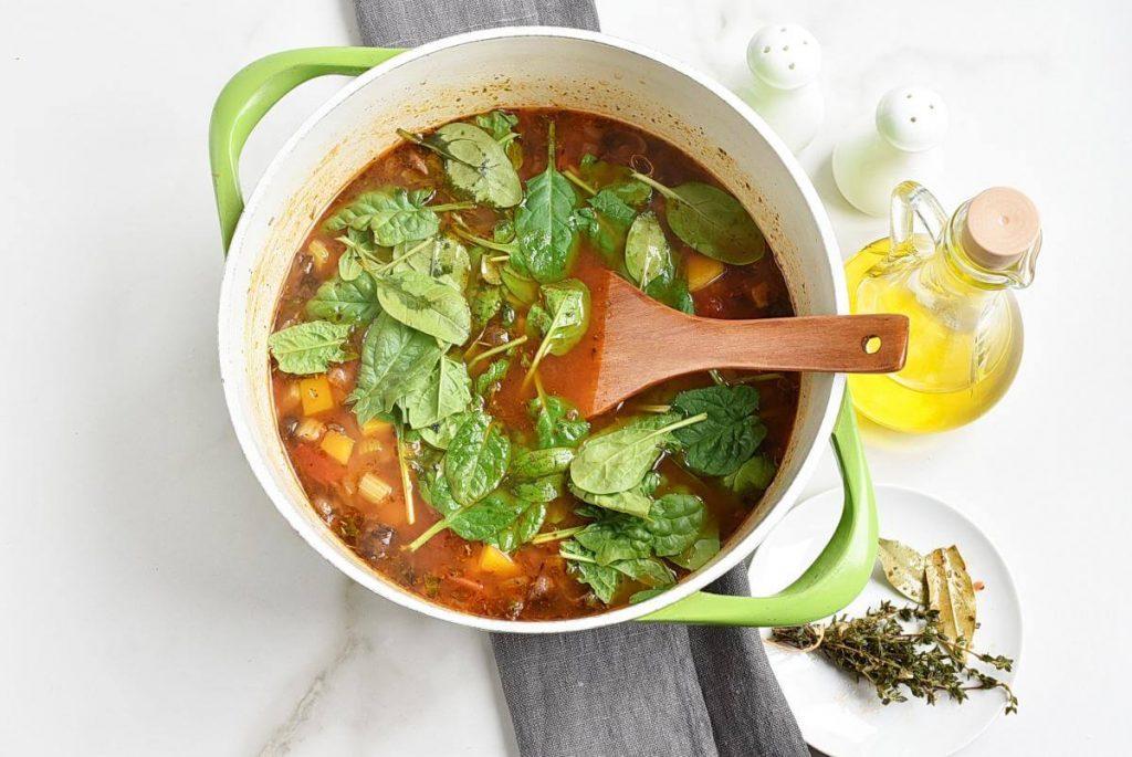 White Bean Tomato Mushroom Soup recipe - step 6