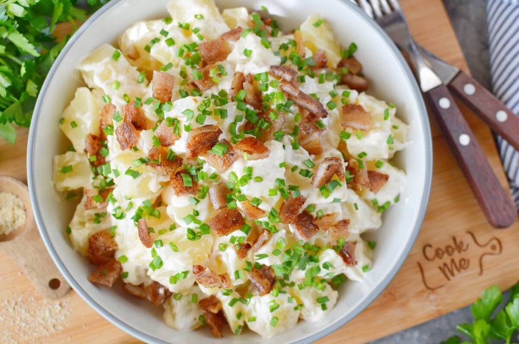 How to serve Bacon Sriracha Potato Salad