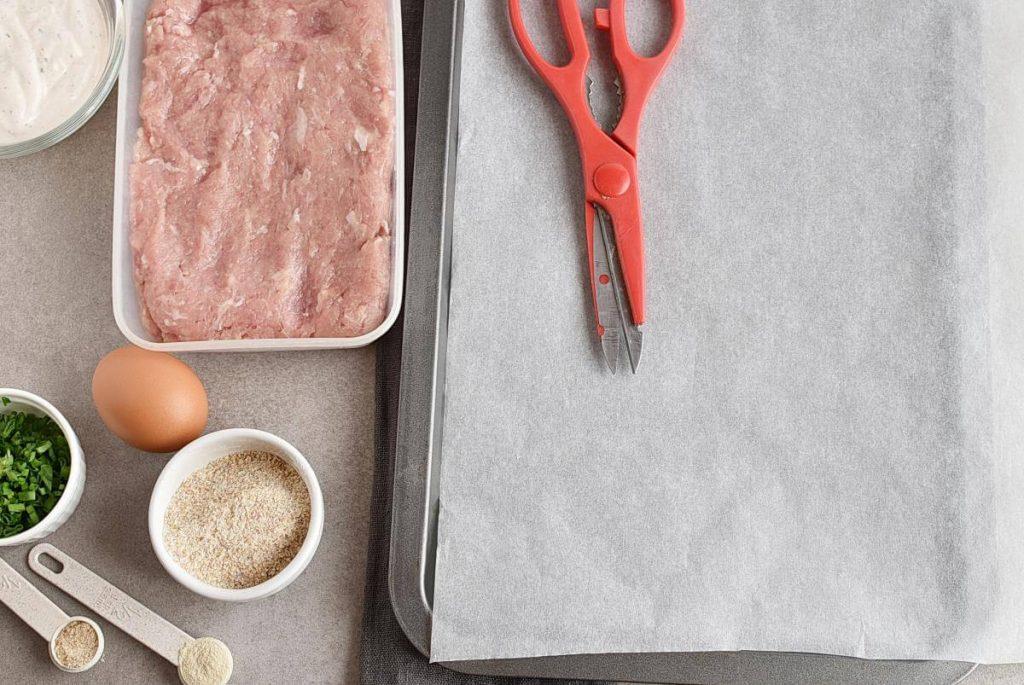 Buffalo Chicken Meatballs Bento Box recipe - step 1