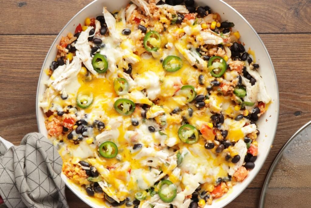 Cheesy Chicken & Black Bean Cauli Rice recipe - step 6