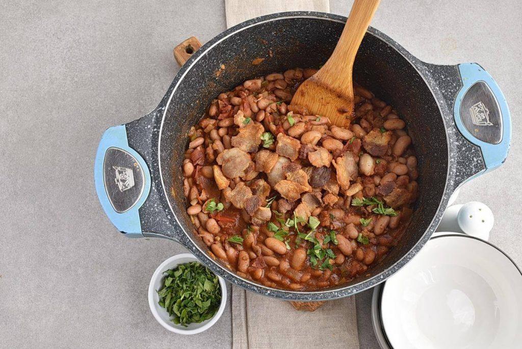 How to serve Creamy Borracho Beans