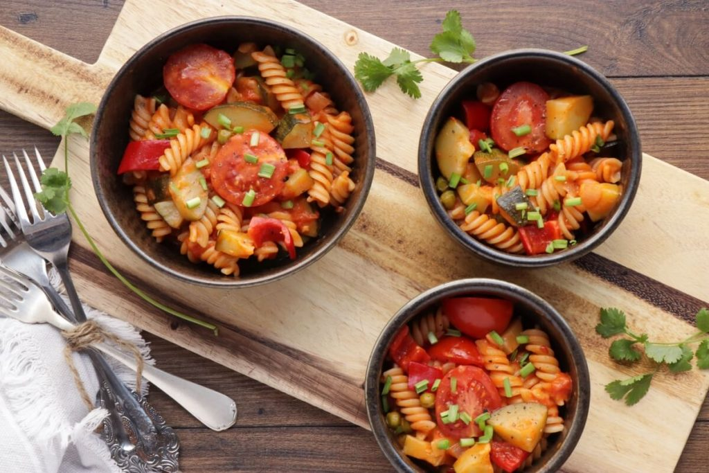 How to serve Creamy Vegan One-Pot Pasta