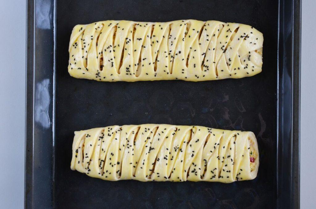 Easy Braided Chicken Bread recipe - step 8