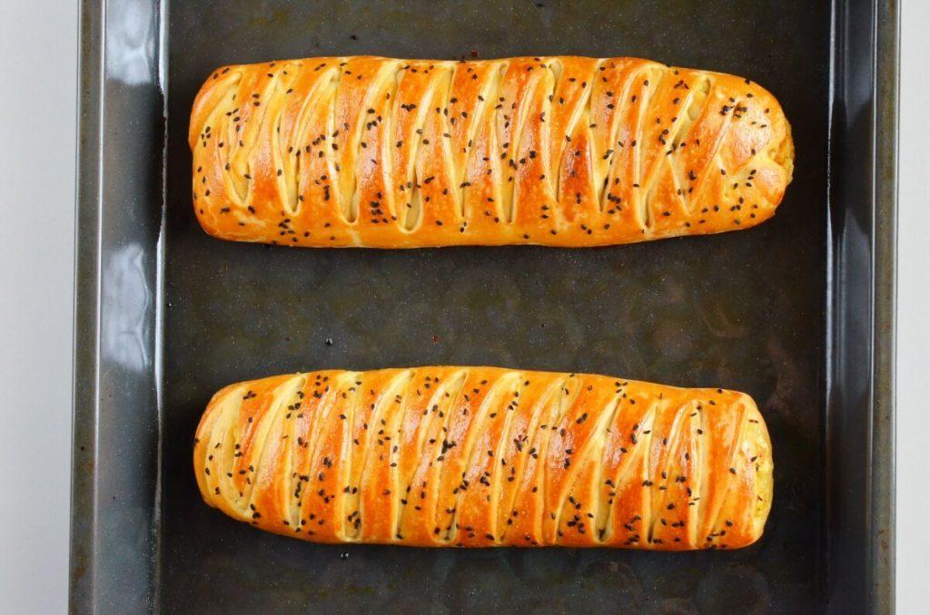 Easy Braided Chicken Bread recipe - step 9