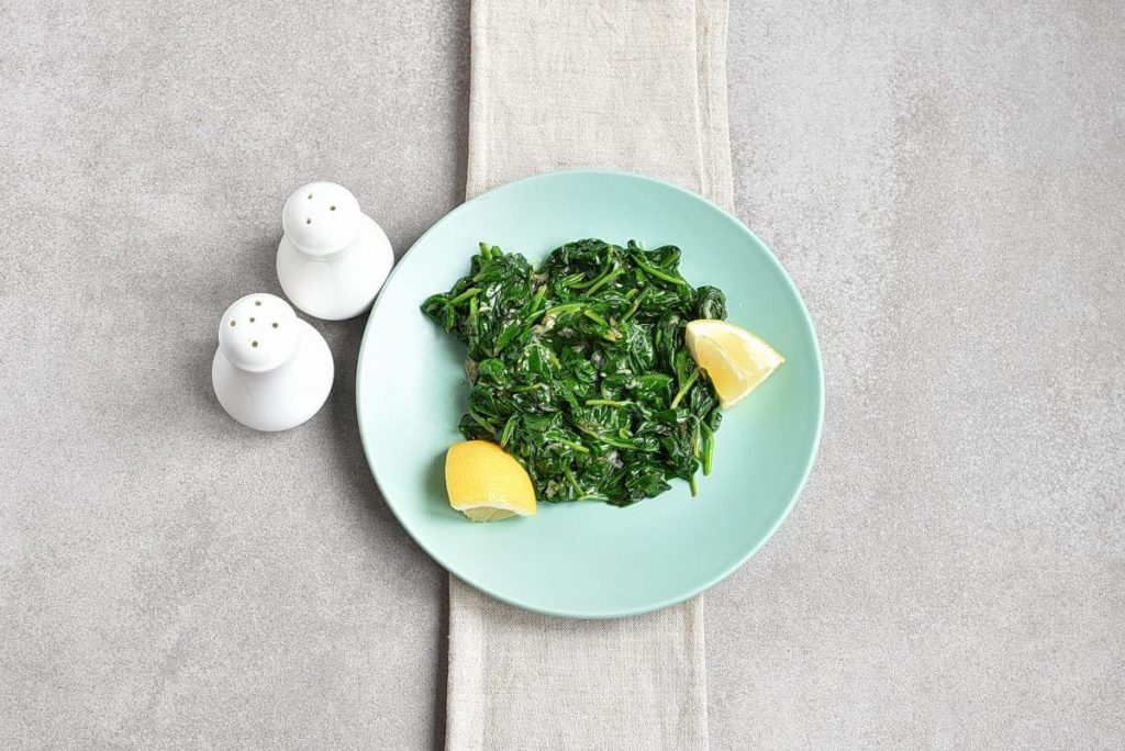 How to serve Easy Lemon-Ginger Spinach
