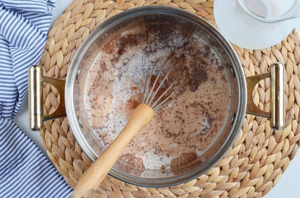 Eggless Chocolate Cornstarch Pudding recipe - step 2