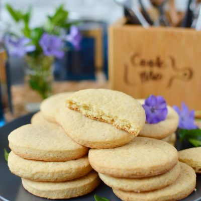 Eggless Sugar Cookies Recipe-How To Make Eggless Sugar Cookies-Delicious Eggless Sugar Cookies