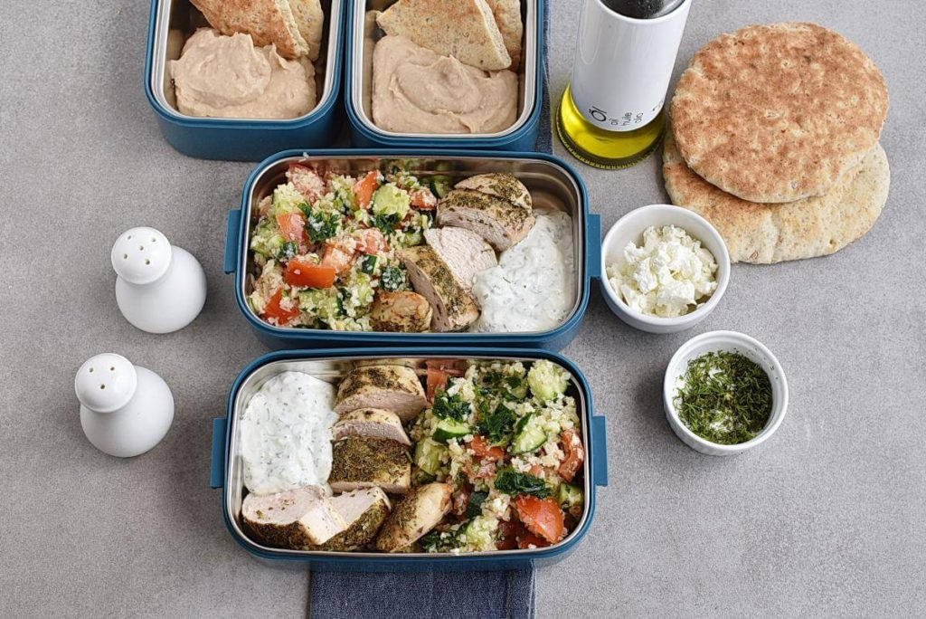 Greek Healthy Chicken Meal Prep Recipe recipe - step 7