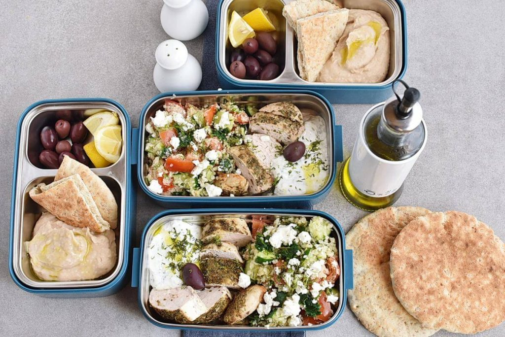 How to serve Greek Healthy Chicken Meal Prep Recipe