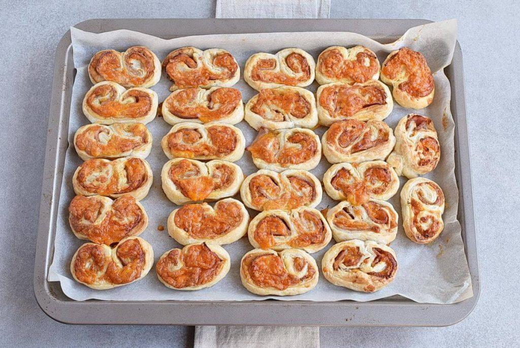 Ham & Cheese Savory Palmiers recipe - step 9