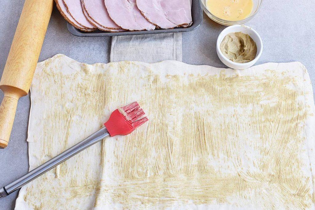 Ham & Cheese Savory Palmiers recipe - step 3