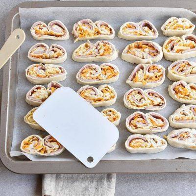 Ham & Cheese Savory Palmiers recipe - step 8