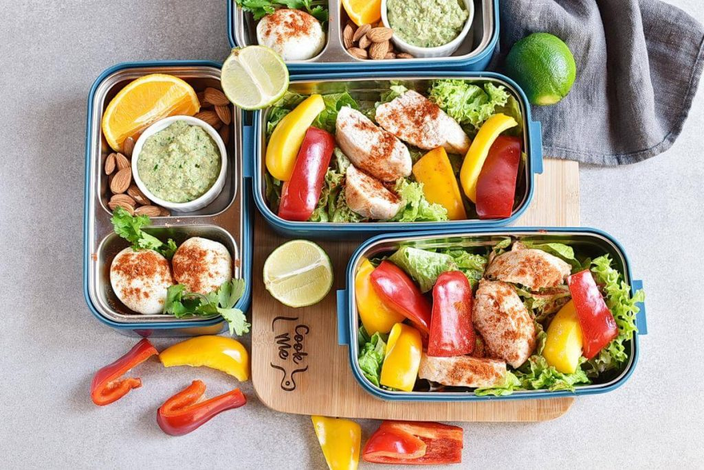 How to serve Healthy Mexican Chicken Meal Prep