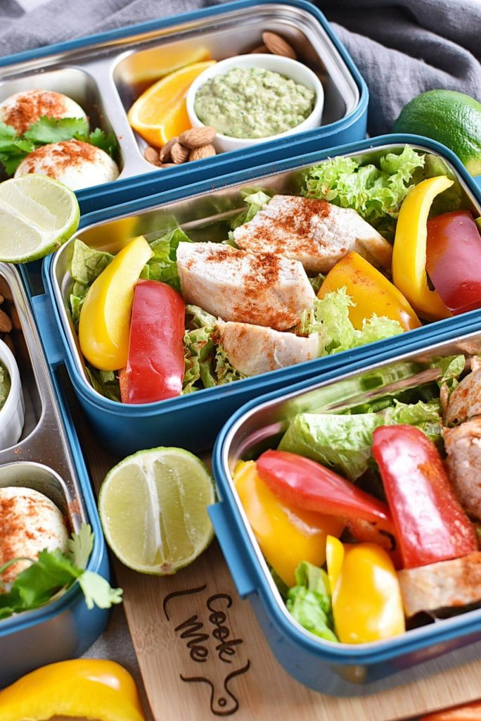Healthy Mexican Chicken Meal Prep