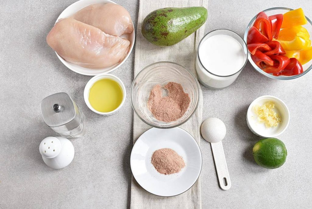 Healthy Mexican Chicken Meal Prep recipe - step 1