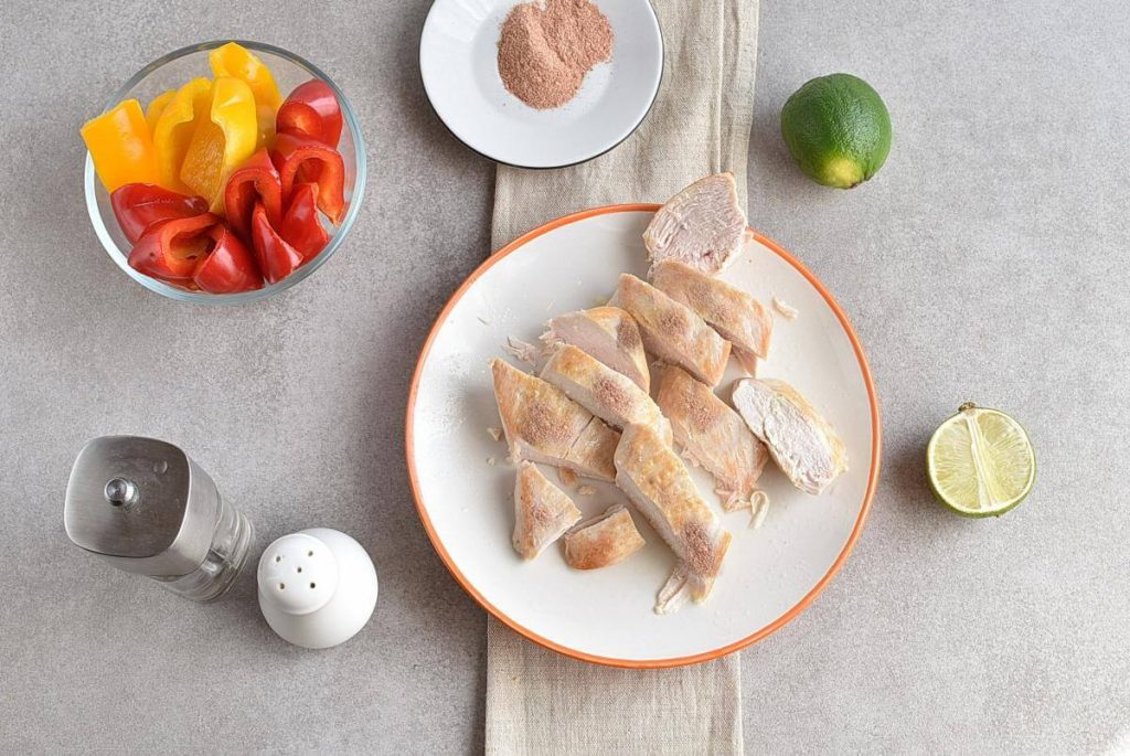 Healthy Mexican Chicken Meal Prep recipe - step 5