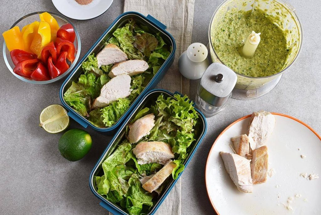 Healthy Mexican Chicken Meal Prep recipe - step 6
