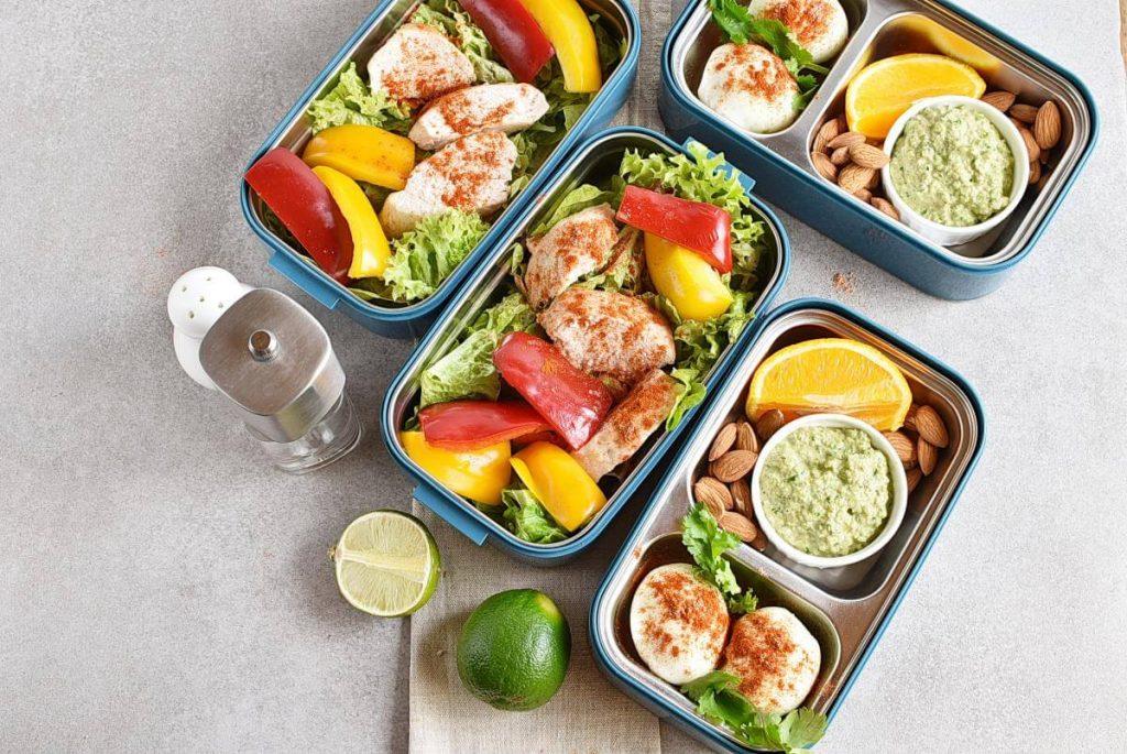 Healthy Mexican Chicken Meal Prep recipe - step 7